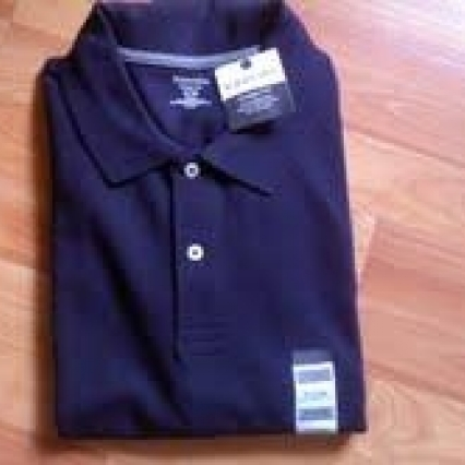 ST JOHNS BAY 100% COTTON HERITAGE POLO, X LARGE, NEW WITH TAGS FREE SHIPPING