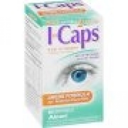 LOT OF 120 I CAP EYE VITAMIN AREDS FORMULA 60 SOFTGEL CAPS! NEW, SEALED! SHIPS FREE!