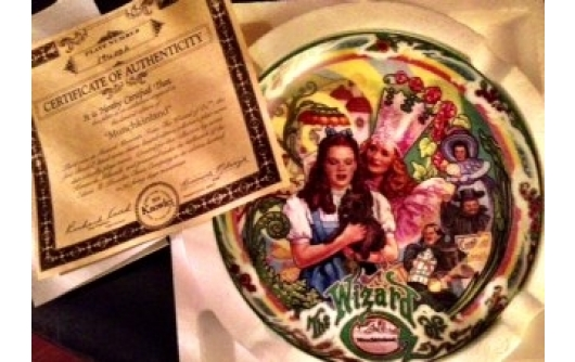 Full Collection Musical Wizard of Oz Plates