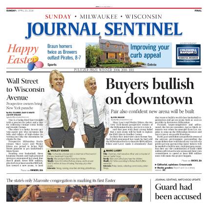 Journal Sentinel - Sunday