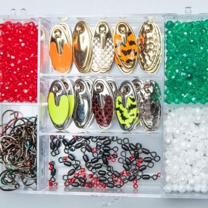 Walleye Gamefish & Panfish Live Bait Spinner Rig Kits