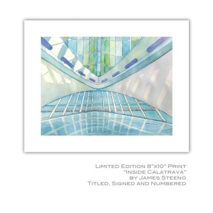 Inside Calatrava Milwaukee Art Museum (MAM) 8x10 Print