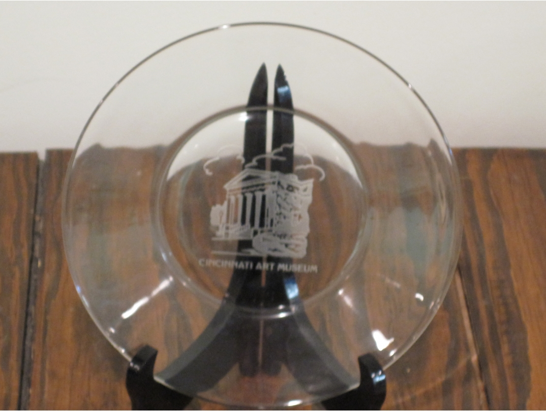 Home DecorCincinnati Art Museum glass plate