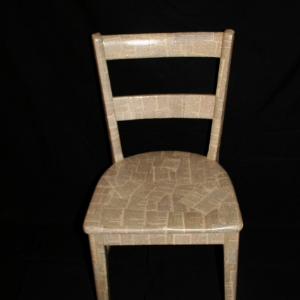 Newspaper Clipping Chair