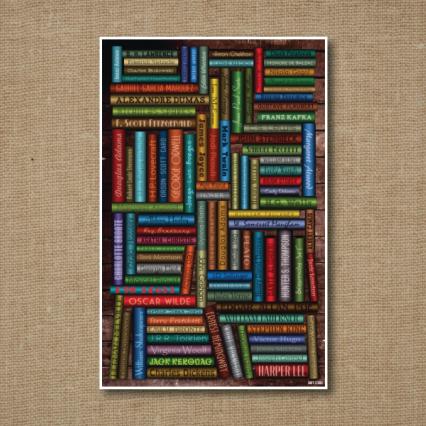 Elite Bookshelf - 11x17 Inch Print