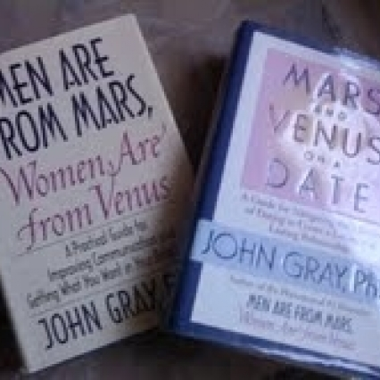 LOT OF JOHN GRAY BOOKS MEN ARE FROM MARS WOMEN FROM VENUS & MARS/VENUS ON A DATE FREE SHIPPING