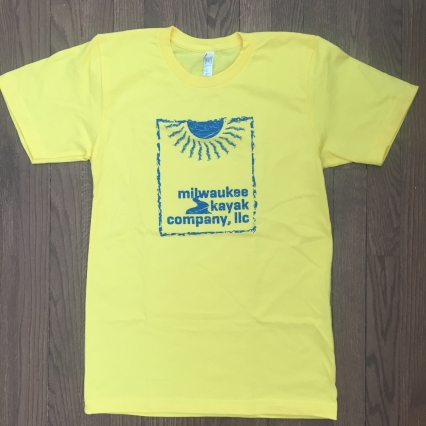 SUNSHINE tshirt - Milwaukee Kayak Company
