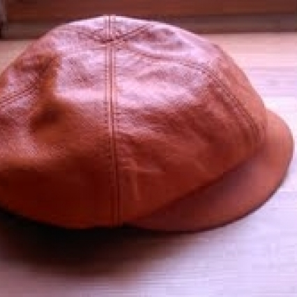 Wilson leather dutch boy cap hat