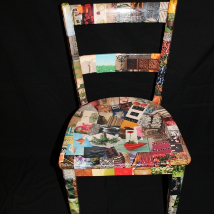 Magazine clip art chair