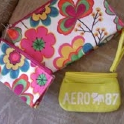 Lot of makeup bags & coin wristlet, brand new! Free shipping