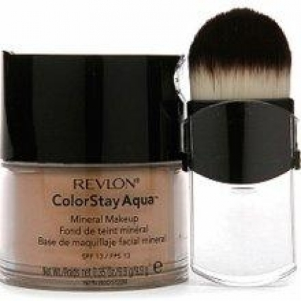 Revlon ColorStay Aqua Mineral Makeup Medium Deep BRAND NEW FRESH SEALED WITH BRUSH ships free