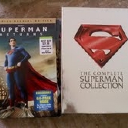THE COMPLETE SUPERMAN COLLECTION & SUPERMAN RETURNS DVD, ALL NEW!! FREE SHIPPING!