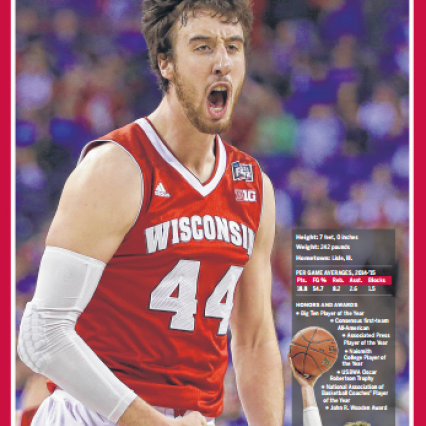 Frank Kaminsky Player of the Year Poster