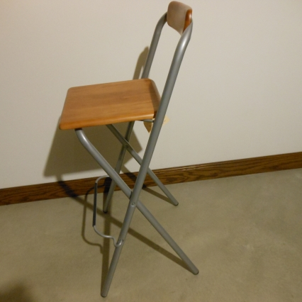 Wooden Hi-Chair Stool