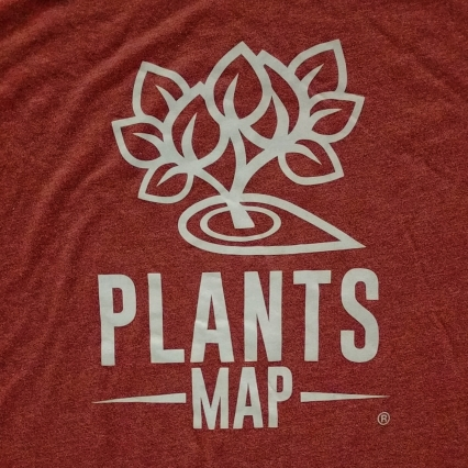 Plants Map T-Shirt (2015 First Edition)