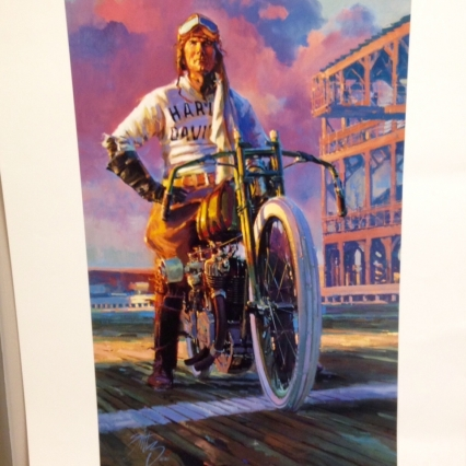 Vintage Harley-Davidson Poster