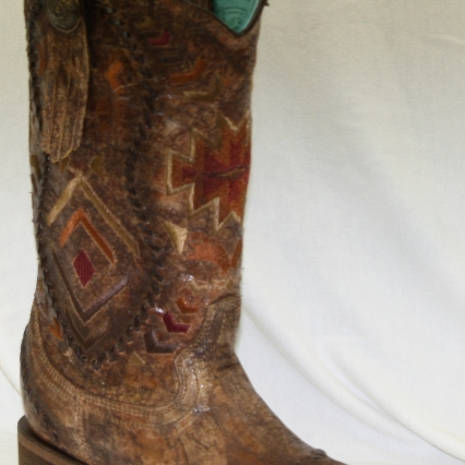 Ladies Aztec Corral Boot