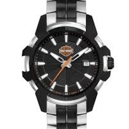 Men's Bulova Harley-Davidson Watch