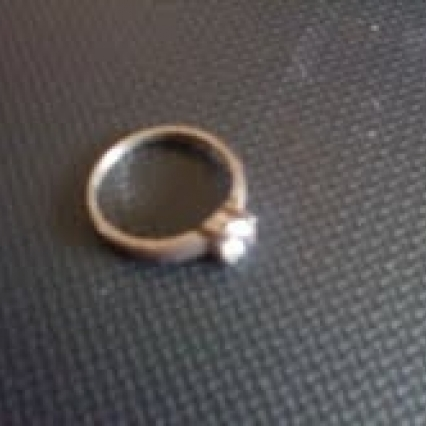Vintage engagement ring, size 9